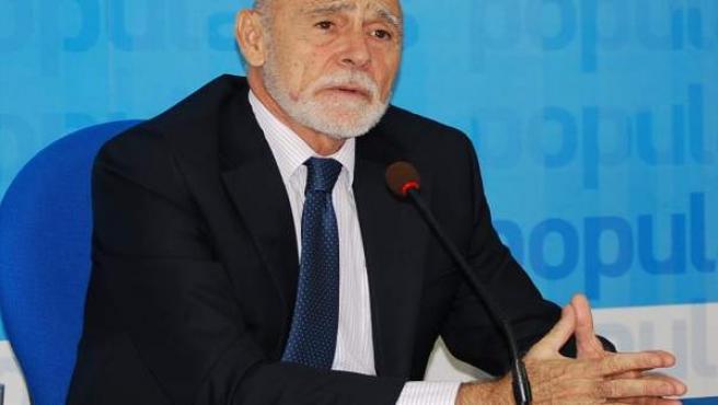 El candidato del PP de Jaén al Senado Gabino Puche.