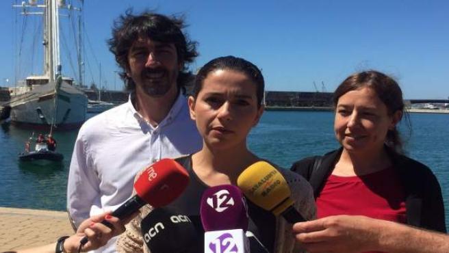 Inés Arrimadas, Sergio del Campo, Marina Bravo, C's