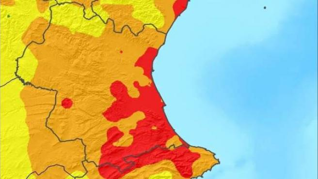 Año hidrológico en la Comunitat Valenciana