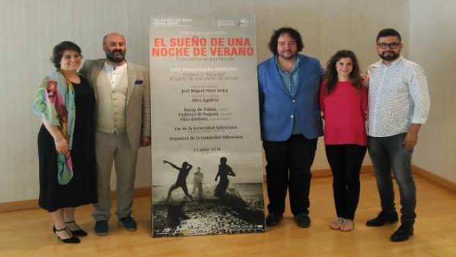Presentación del concierto-espectáculo 'El sueño de una noche de verano'