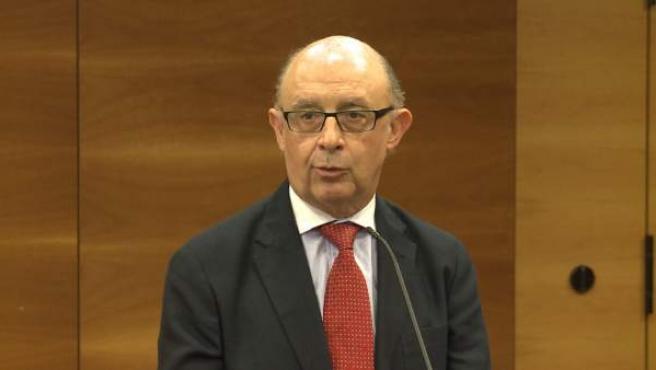 Cristóbal Montoro en Valencia