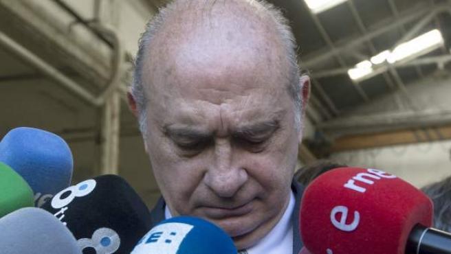El ministro del Interior en funciones y candidato del PPC por Barcelona, Jorge Fernández Díaz.