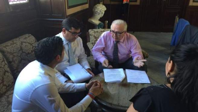 Sánchez Maldonado se reúne con el alcalde de Utrera
