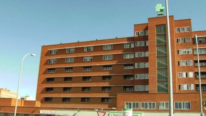 Hospital Materno Infantil de Badajoz.
