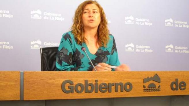 La portavoz del Gobierno Begoña Martínez informa del Consejo
