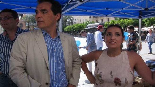 José Antonio Nieto y Beatriz Jurado