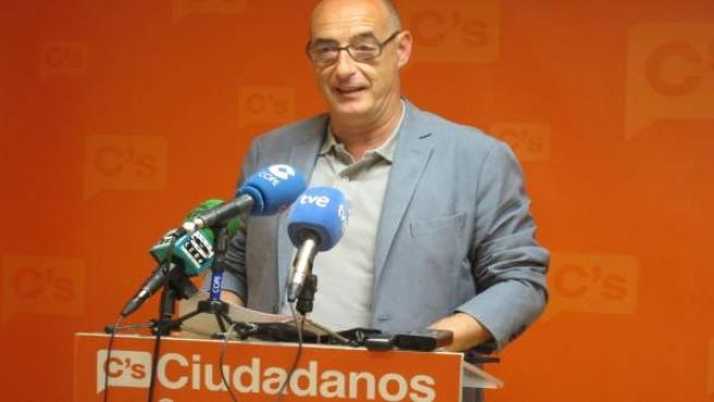 Féliz Álvarez, 'Felisuco', candidato de C's Cantabria
