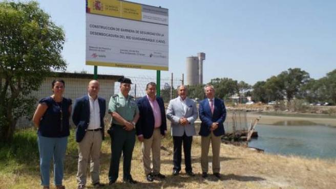 El delegado del Gobierno en Andalucía, Antonio Sanz, en San Roque