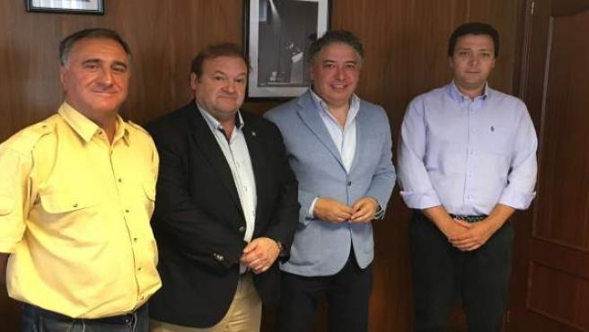 Reunión de Tomás Burgos con representantes de CSI-F
