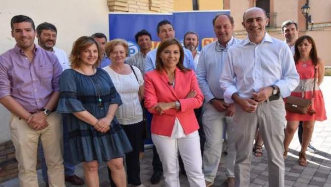 Ana Alós y otros candidatos del PP