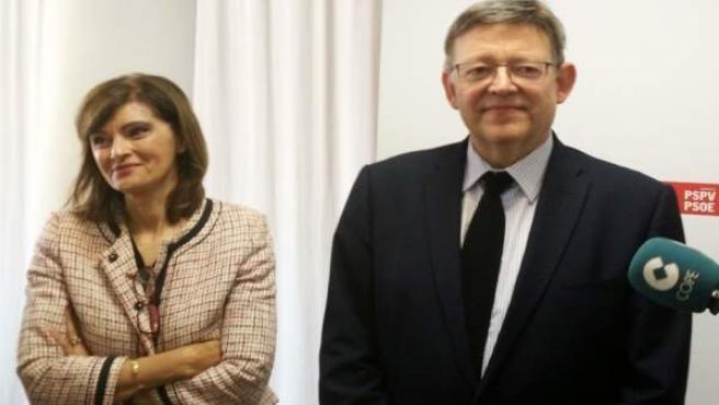 Ximo Puig y Ana Botella