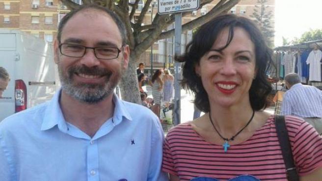 Alberto Montero y Eva García
