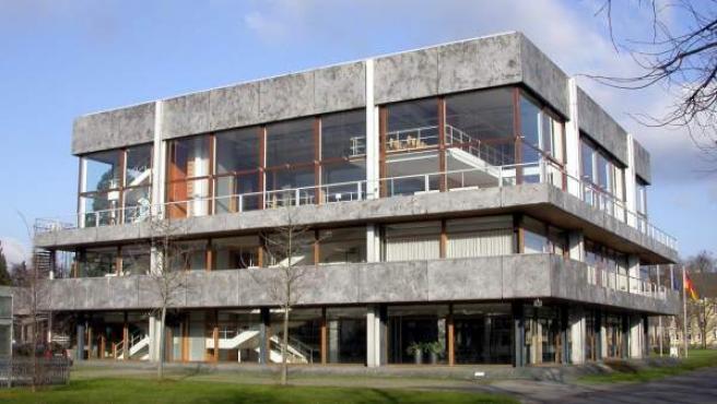 Imagen de la sede del Tribunal Constitucional de Alemania, en la ciudad de Karlsruhe.