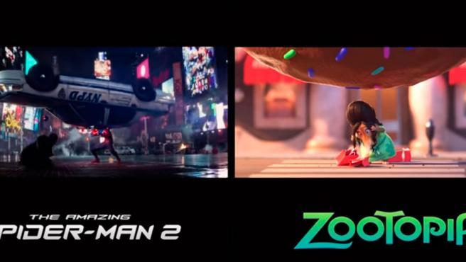 Vídeo del día: ¿Son 'The amazing Spider-Man 2' y 'Zootrópolis' la misma película?