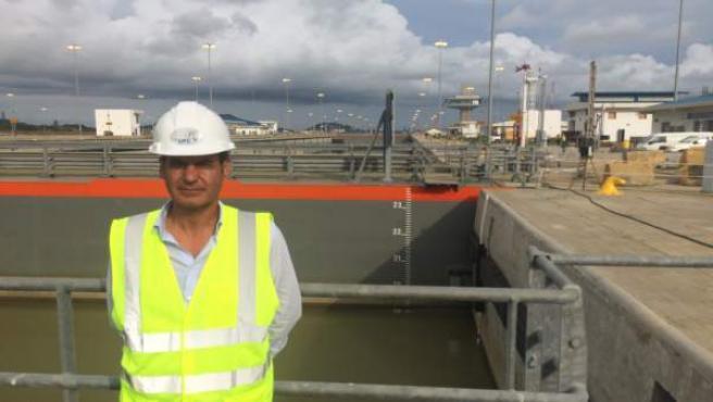 Egresado José Pelaez Canal de Panamá Sacyr