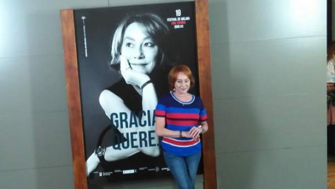 La cineasta Gracia Querejeta.
