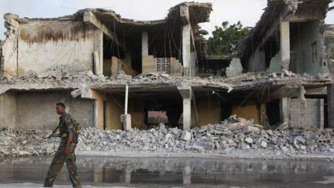 La región de Mogadiscio sufre constantes ataques terroristas.