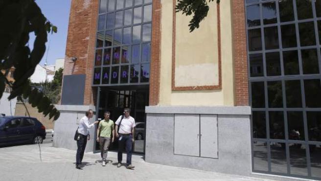 Fachada de la sede de Google en Madrid.