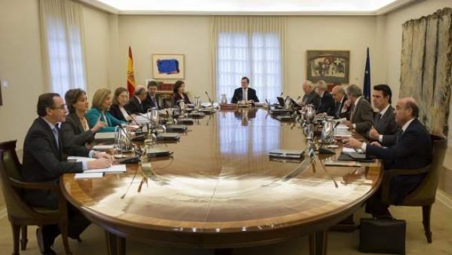 Ultima reunión del Consejo de Ministros en 2015.