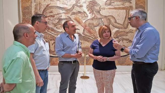 Recepción en la Diputación de Badajoz