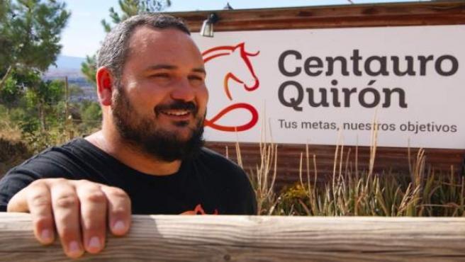 El gerente de Centauro Quirón, Pedro Ferrer