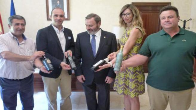 Recepción a los galardonados con los Premios Alimentos de España