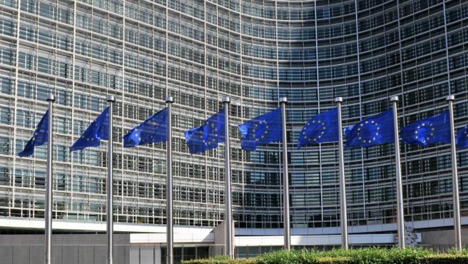 Fachada del edificio de la Comisión Europea en Bruselas.