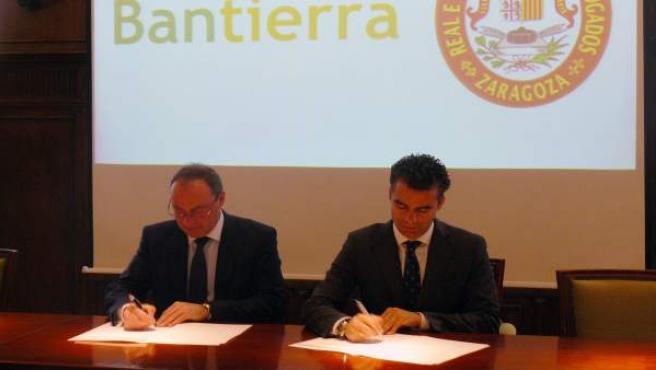 Acuerdo entre Bantierra y el Colegio de Abogados de Zaragoza