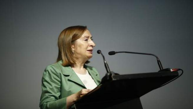 La ministra de Fomento en funciones, Ana Pastor