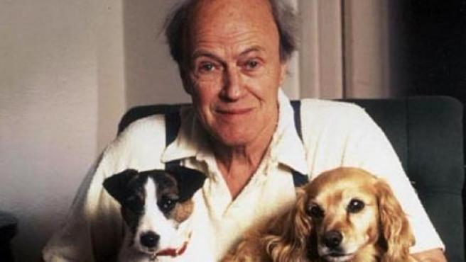 El escritor británico Roald Dahl (1916-1990).