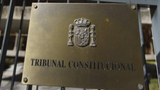 Fachada del Tribunal Constitucional (TC).