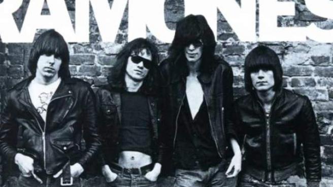 Portada de 'Ramones', el primer disco de Ramones.