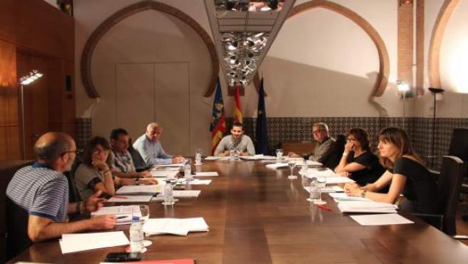Reunión delñ Consejo de Dirección del Institut Valencipa de Cultura