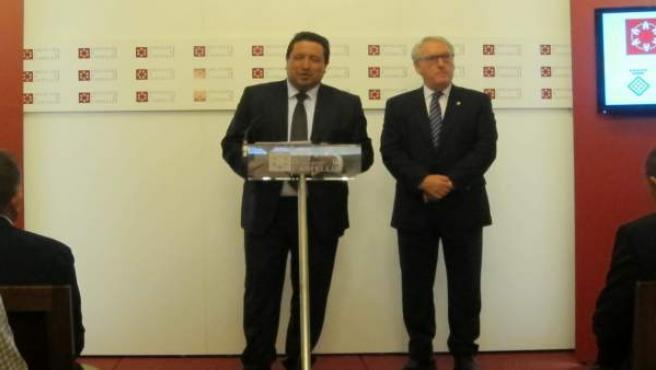 PRESIDENTES DE LAS DIPUTACIONES DE CASTELLON Y TARRAGONA