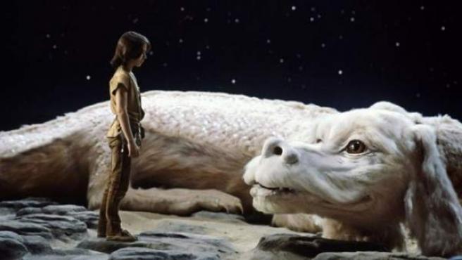 Fotograma de la película 'La historia interminable', basada en la novela homónima de Michael Ende.