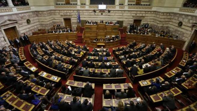El Parlamento Griego, en Atenas.