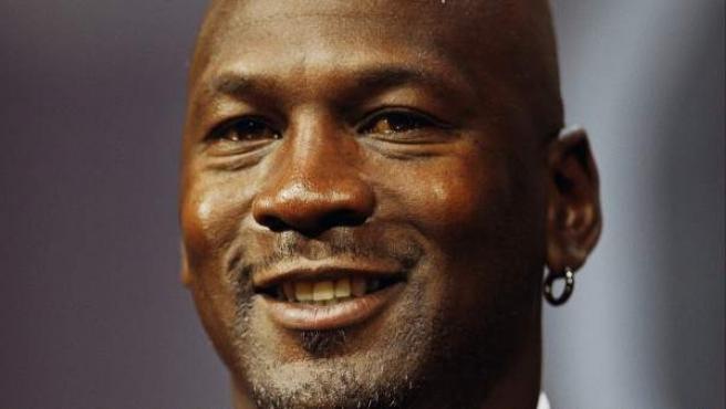 Imagen de archivo de la leyenda de la NBA, Michael Jordan.