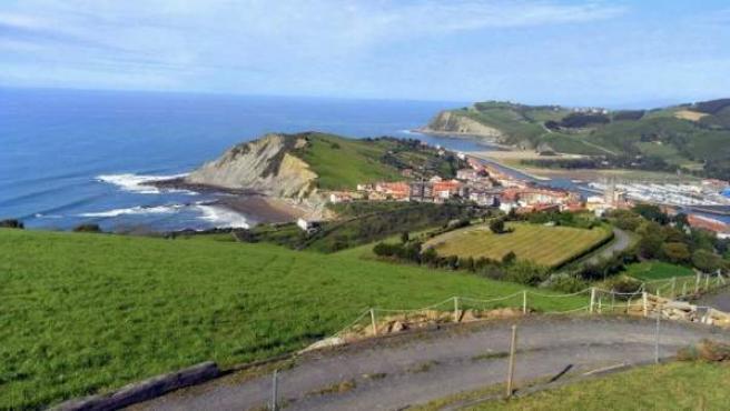 Vista general de la localidad guipuzcoana de Zumaia.