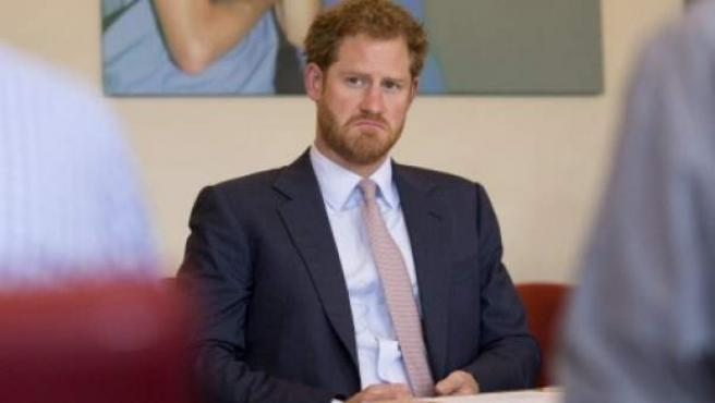 El príncipe Harry, en una imagen de archivo.