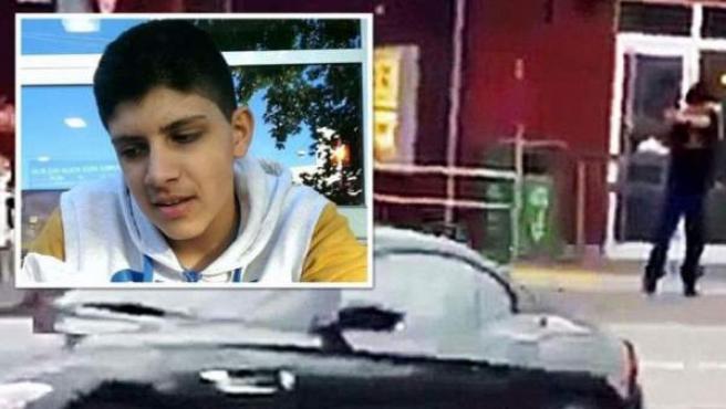 Imagen difundida por el diario 'Bild' del autor del tiroteo de Múnich.