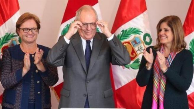 """El presidente de Perú, Pedro Pablo Kuczynski, o """"PPK""""."""