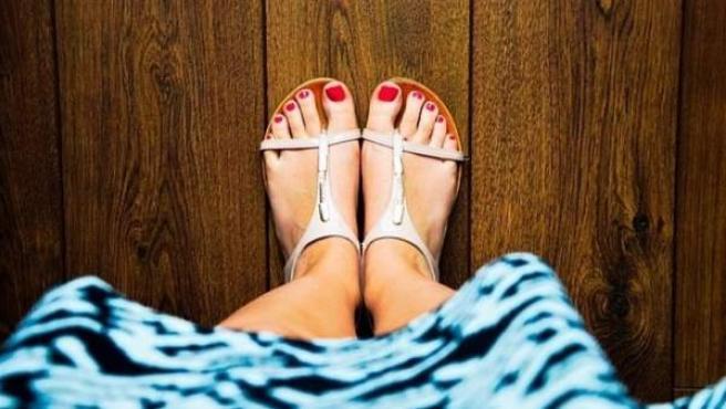 Imagen de unas sandalias.