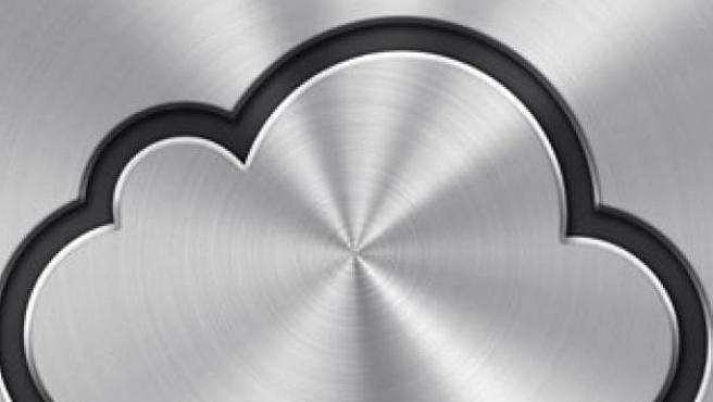 Logo de I-cloud de Apple.
