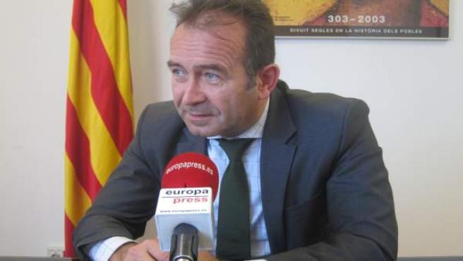 Miquel Calçada, cabeza de lista de CDC al Senado el 26J