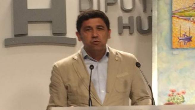 Alberto Fernández , alcalde de Ayamonte