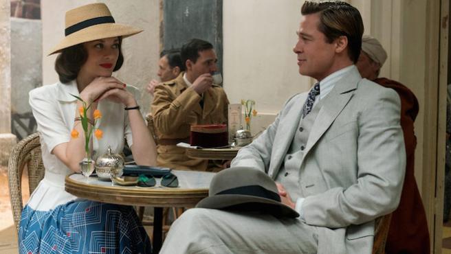 'Aliados': Primer vistazo a Brad Pitt y Marion Cotillard