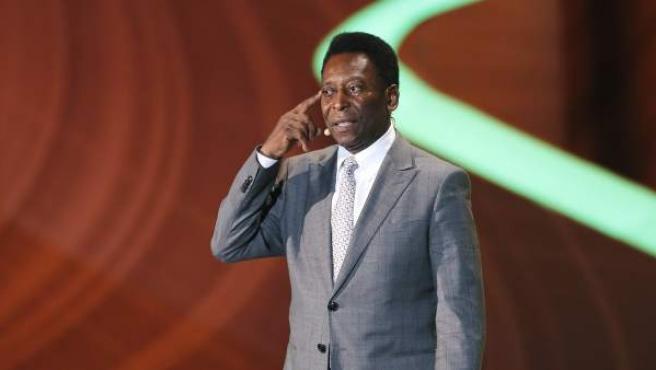 El mítico Pelé, en una imagen de archivo.