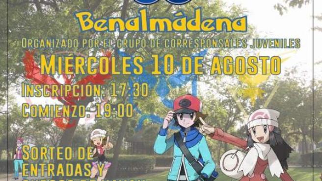 Pokemon Go en Benalmádena