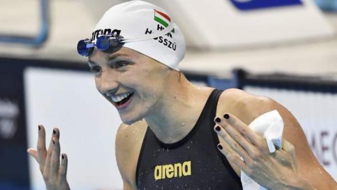Katinka Hosszu ha conseguido tres medallas de oro (100 espalda, 200 y 400 estilos) en los Juegos Olímpicos de Río 2016 y una de plata en los 200 espalda. Ha sido una de las reinas de la piscina.