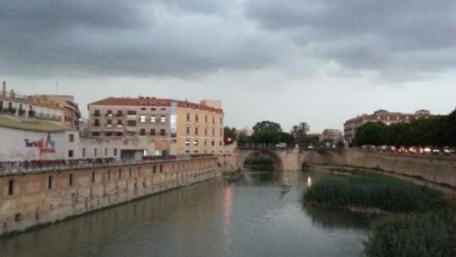 Lluvias y tormenta en Murcia